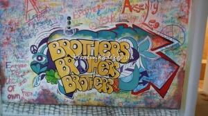 Роспись стен в детской для братьев