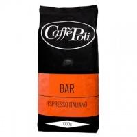 Caffe Poli Bar 1000г кофе в зернах