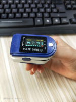 Электронный пульсоксиметр на палец Pulse Oximeter (Гарантия 12 месяцев)