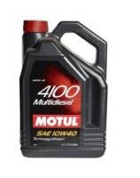 Моторное масло Motul 4100 Multi Diesel 10W40 (5л)