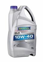 Моторное масло RAVENOL DLO SAE 10W-40 (канистра 5 л)