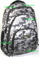 Рюкзак ранец школьный, городской, для средней и старшей школы, студента. Камуфляж