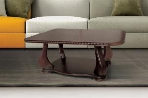Журнальний стіл ЕДЕМ люкс темний горіх