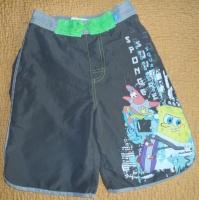 Крутые бриджи Spongebob на 7-8 лет.