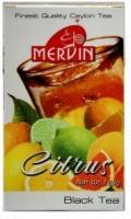 Чай Mervin Цитрус Черный ОРА* крупный лист 125 грам