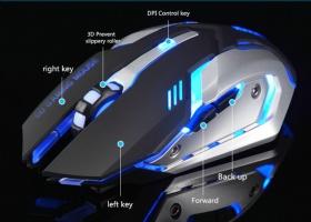 Ноутбук Заряда Неограниченный Беспроводной Мышки