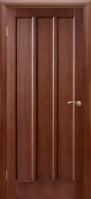 Двери межкомнатные ТРОЯ темный орех ПГ