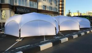 Шатер палатка «PARK 6» на 40кв.метров. Палатка для мероприятий, выставок. шетстигранная. Киев
