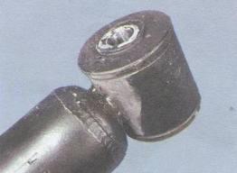 Замена втулки амортизатора на снятом амортизаторе