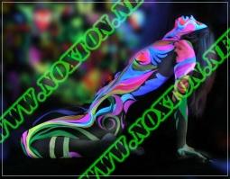 Светящаяся в темноте краска для тела Noxton for body-art