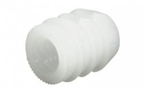 Муфта М6 пластиковая белая 039.33.266