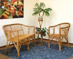 Комплект мебели из лозы КО7и ДО7