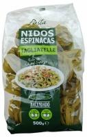 Макароны-гнёзда с шпинатом«hacendado» nidos espinacas tagliatelle 500г