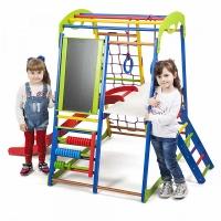 Детский спортивный комплекс для дома Sportbaby SportWood Plus 3