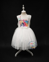 Детское платье My little Pony, белое