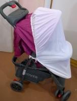 Москітна сітка (універсальна) на дитячу коляску Мс100