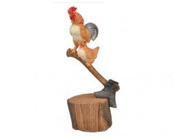 Фігурка декоративна «На селі» 13х25,5 см