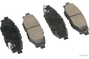 Тормозные колодки задние SUBARU Forester (SH), SUBARU Legacy III, SUBARU Outback SP 395 PR SCT