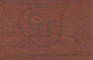 Матовая пленка ПВХ Вишня текстурная для МДФ фасадов и накладок.