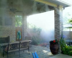 Монтаж систем туманообразования, туманных установок