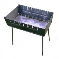 Мангал чемодан разборный Серебристый (002овраываыввтЮИА047)