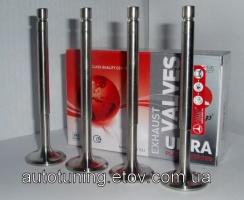 T-образные облегченные клапана (выпуск, комплект 4 шт.) AMP (Азот.) ВАЗ 2101-2107, 2121, 21213