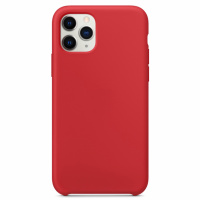 Чехол Silicone Case without Logo (AA) для Apple iPhone 11 Pro Max (6.5«) Красный / Red