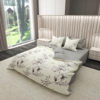 Комплект постельного белья Satin 488-SL-A-B Евро