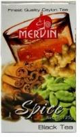 Чай Mervin Спайс Черный ОРА* крупный лист 125 грам