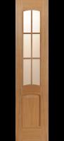 Двери межкомнатные КАПРИ-3 светлый дуб 40 см.