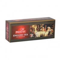 Чай Mervin черный Английский пакетированный 25*2 гр.