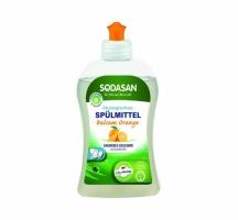 Sodasan 2556 Органическое средство-концентрат для мытья посуды Апельсин, 500 мл