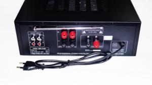 Усилитель звука UKC AV-325BT USB, SD, AUX, Bluetooth, Караоке