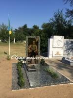 Памятник бойцу АТО №1