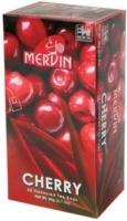 Чай Mervin черный Вишня пакетированный 25*2 грам