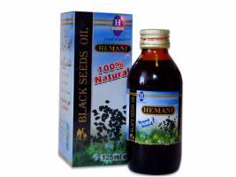Масло черного тмина Хемани (Hemani) из Пакистана 125 мл.