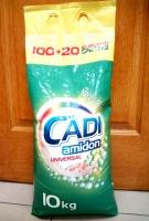 Универсальный стиральный порошок Cadi amidon Universal 10 кг