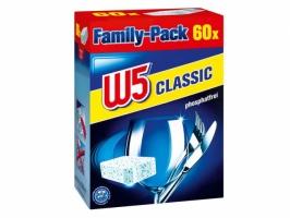 Таблетки для посудомоечной машины W5 Classic 60шт.