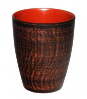 Стакан керамический «Славянский подарок» 400мл Дымленая керамика