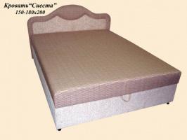 Кровать двуспальная Сиеста