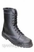 Ботинки ОМОН клеепрошивные юфть-кирза