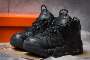 Кроссовки женские в стиле Nike Uptempo, черные (14771),  [  36 37 38 39 40 41  ]