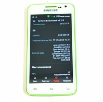 Телефон Samsung G2 2 SIM, 4,6'', 2 ЯДРА, WiFi, ANDROID