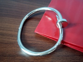 Браслет Cartier гвоздь серебро