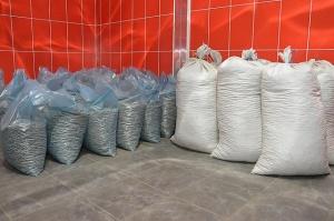 Соломенные пеллеты, фасовка в мешках по 15 кг и 30 кг