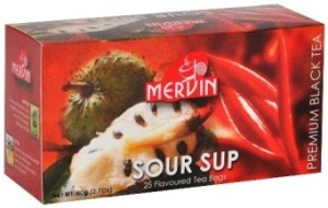 Чай Mervin черный Сау-Сеп пакетированный 25*2 грам