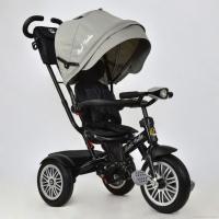 Велосипед 3-х колёсный 6188 Best Trike поворотное сиденье , кожаный бампер и ручка