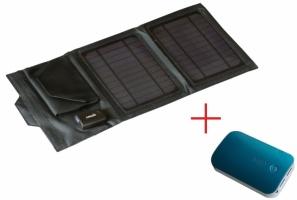 Солнечный зарядный комплект для туризма А7