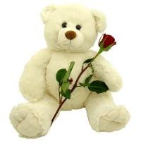 Ведмедик з трояндочкою