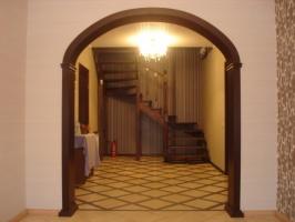 Межкомнатные арки из натурального дерева, деревянные арки Кривой Рог цена